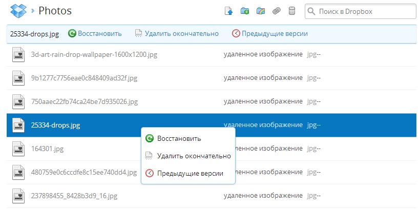 Dropbox_Delete