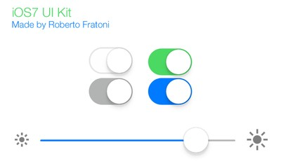 ios7_ui_Kit_flat_elements